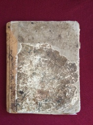 The original diary from 1849
