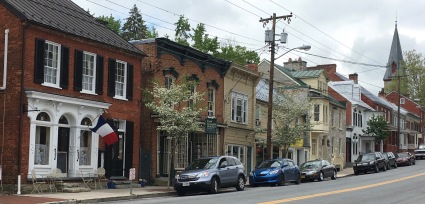 W. German St., Shepherdstown's main drag