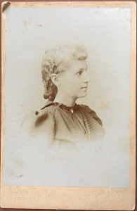 Celia Clarke, taken in Santa Cruz in the 1890s.