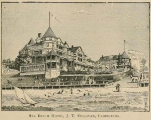 The Sea Beach Hotel, Santa Cruz, CA